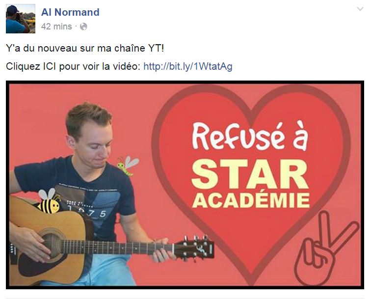alex normand star academie