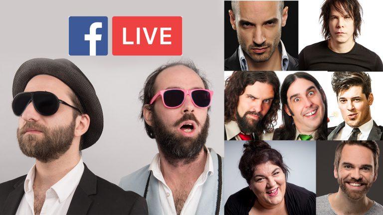 ComédiHa! présente un gala non-censuré sur Facebook Live.