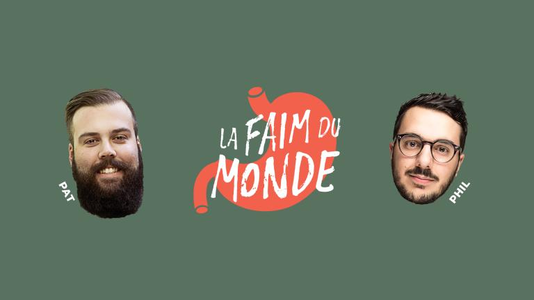 Nouveau podcast – La faim du monde : votre dernier repas avant de mourir